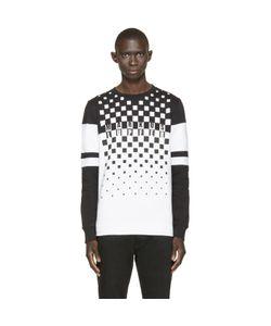 Markus Lupfer | And White Logo Print Sweatshirt