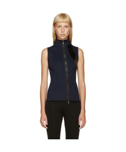Paco Rabanne | And Black Zippered Tank Top