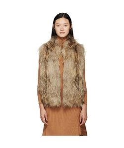 Meteo By Yves Salomon | Knit Fur Vest