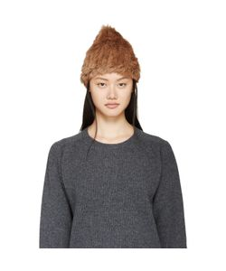 Meteo By Yves Salomon | Knit Rabbit Fur Toque