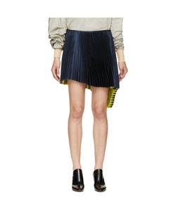 Thomas Tait | Pleated Asymmetrical Skirt