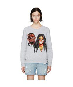 Ashish   Sequinned Kimye Sweatshirt