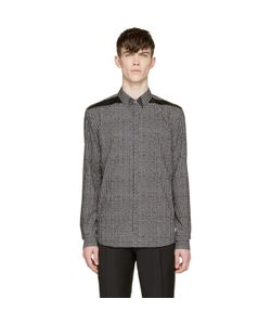Costume National | And White Grid Print Shirt