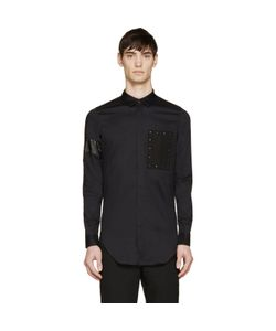 Cy Choi | Studded Patch Shirt