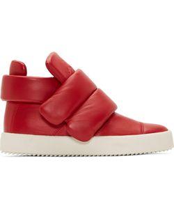 Giuseppe Zanotti | Leather Padded London Lounge Sneakers