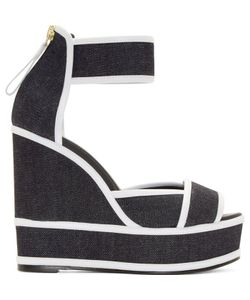 Pierre Hardy | Denim Wedge Sandals