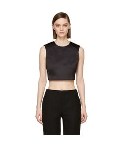 McQ | Satin Cropped Top