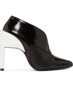 Paco Rabanne | Contrast Heel Ankle Boots