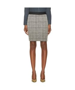 Roseanna | And White Houndstooth Buster Skirt