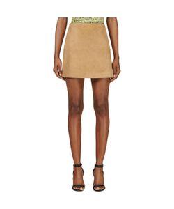 Jonathan Saunders | Suede Debbie Mini Skirt