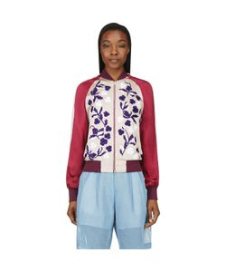 Jonathan Saunders | Floral Embroidery Cecily Bomber Jacket