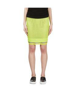 Sacai Luck | Open Knit Layered Skirt