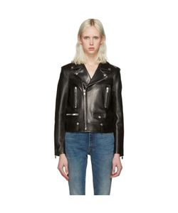 Saint Laurent | Leather Motorcycle Jacket