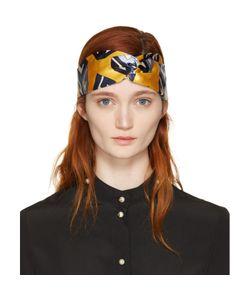 Gucci | Silk Logo Cube Headband