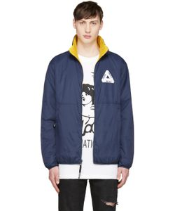 Palace | Navy And Yellow Thinsulate Reversible Jacket