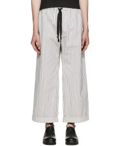 Phoebe English | Black And White Wide-Leg Trousers