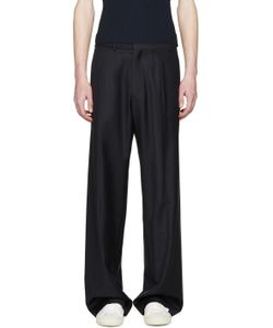 Cmmn Swdn | Navy Wide-Leg Maxwell Trousers