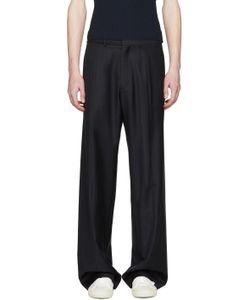 Cmmn Swdn | Navy Wide-Leg Maxwell Trousers