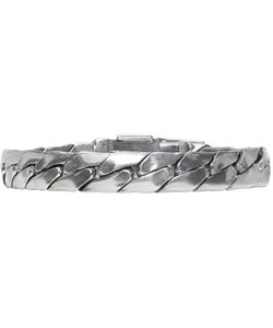 Goti | Silver Chain And Buckle Bracelet