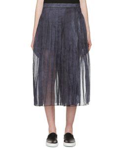 Sara Lanzi | Blue And Purple Organza Skirt