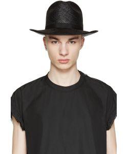 Robert Geller   Black Straw Hat