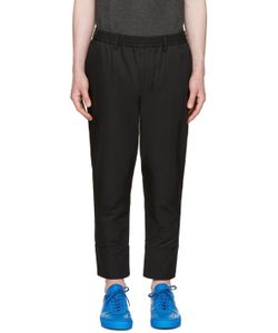 Undecorated Man | Twill Piped Trousers