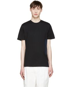 Tim Coppens | Black And Navy Pocket T-Shirt