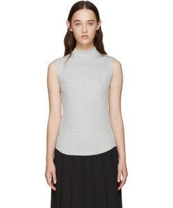 Nomia | Ribbed Sleeveless T-Shirt