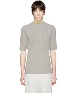 Cmmn Swdn | Grey Ribbed Shea Sweater