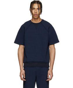 Umit Benan | Navy Scuba Jersey Pullover