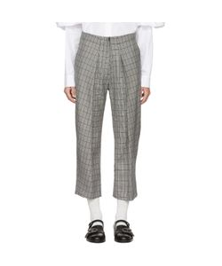 Ashley Williams | And Ivory Prince Of Wales Trousers