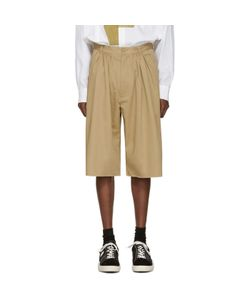 Bless | Pleated Bermuda Shorts