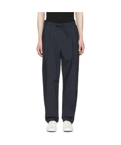 Undecorated Man | Pleated Drawstring Trousers