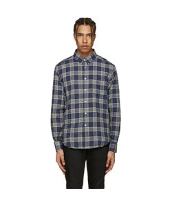 Naked and Famous Denim | Herringbone Buffalo Check Shirt