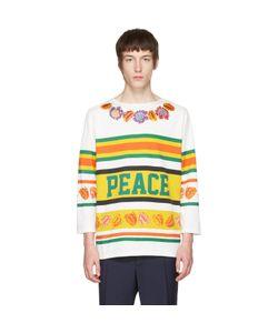 Paul Smith   Peace Stripe Hockey T-Shirt
