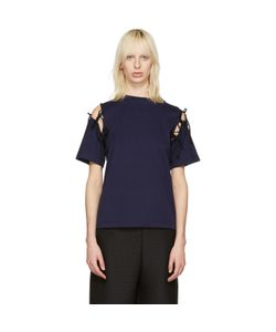 Facetasm | Tie Shoulder T-Shirt