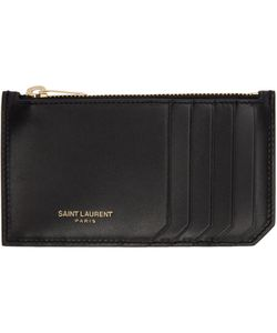 Saint Laurent | 5 Fragments Zip Card Holder