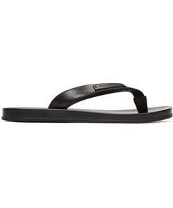 Dolce & Gabbana | Dolce And Gabbana Leather Slide Sandals