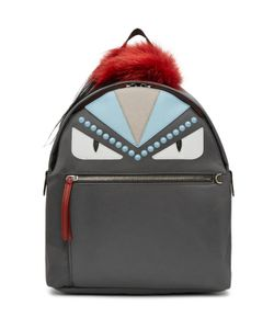 Fendi | Nylon And Fur Bag Bugs Backpack