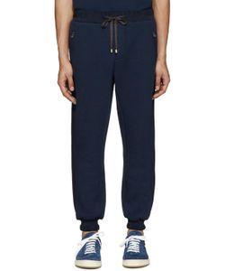 Umit Benan | Navy Scuba Jersey Lounge Pants