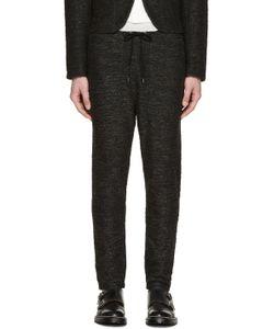Robert Geller   Grey Knit Richard Lounge Pants