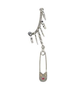 Alexander McQueen | Multi Safety Pin Ear Cuff