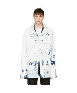 Faith Connexion | Oversized Tie-Dye Denim Jacket