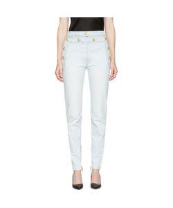 Balmain | High-Rise Buttons Jeans