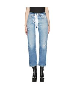 Off-White | Levis Edition Zipped Jeans
