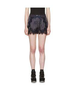 Sacai | Striped Lace Shorts
