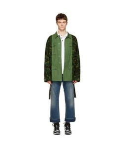 Off-White | Camouflage Field Jacket