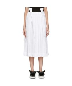 Cédric Charlier | Pleated Lace Skirt