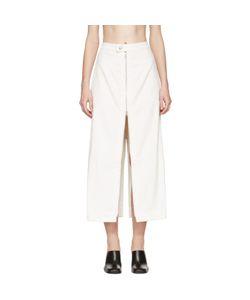 Eckhaus Latta | Corduroy Zip Skirt