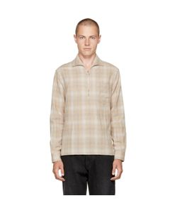 Cmmn Swdn | Lead Faded Check Shirt